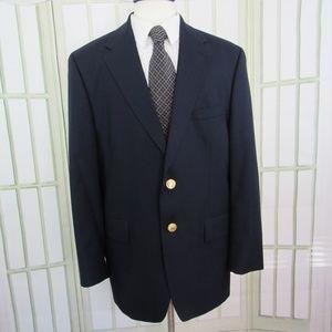 Chaps Ralph Lauren Men's 44R Navy Blue Blazer